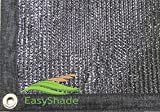 EasyShade 90% Black Shade Cloth Taped Edge with Grommets UV 12ft x 18ft