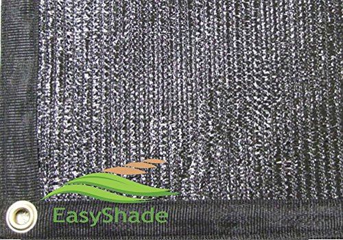 EasyShade Black Shade Grommets Privacy product image