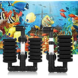 Clearance Sale!DEESEE(TM)New Practical Aquarium Biochemical Sponge Filter Fish Tank Air Pump (B)