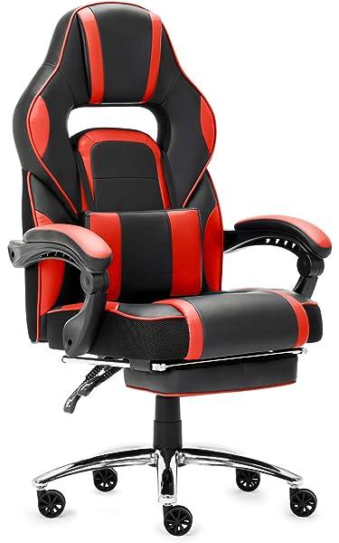 LANGRIA Gaming Silla ergonómica Silla de Oficina de ...