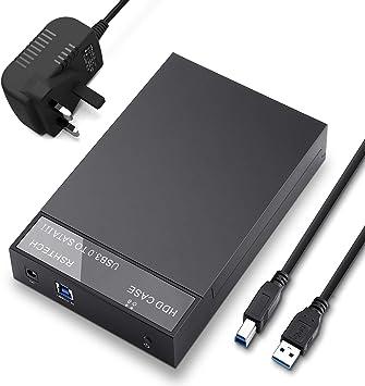 RSHTECH - Carcasa para disco duro externo USB 3.0 para discos de 2 ...
