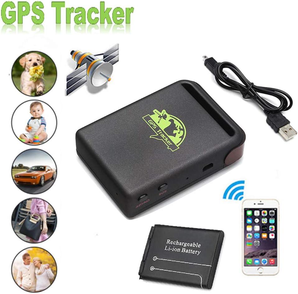 PolarLander portátil en Tiempo Real del vehículo del espía de Banda cuádruple GPS/gsm/GPRS del vehículo del Coche perseguidor TK102B Localizador GPS: Amazon.es: Coche y moto