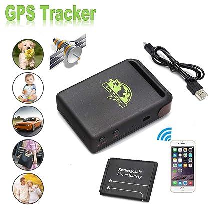 PolarLander portátil en Tiempo Real del vehículo del espía de Banda cuádruple GPS/gsm/GPRS del vehículo del Coche perseguidor TK102B Localizador GPS