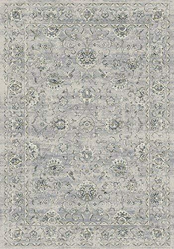 (Dynamic Rugs Ancient Garden 7.10 RD 57126-9696 Cream/Grey )