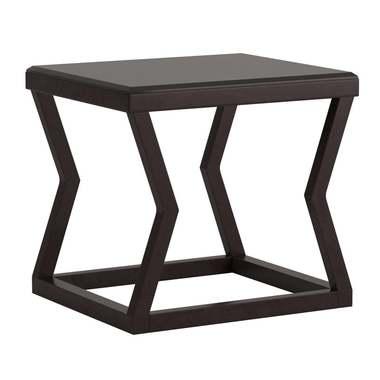 Ashley Furniture Signature Design - Kelton Rectangular End Table - Ultra Clean Lines - Contemporary - Espresso