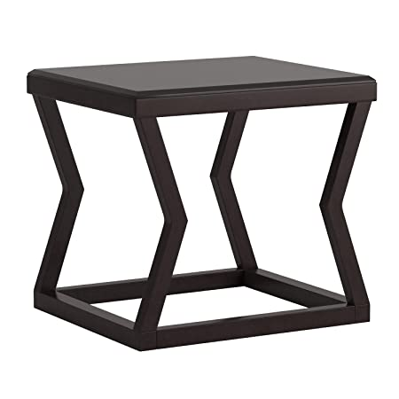 Ashley Furniture Signature Design – Kelton Rectangular End Table – Ultra Clean Lines – Contemporary – Espresso