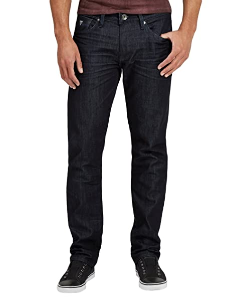 GUESS Mens Slim Straight Jeans