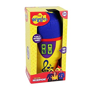 Amazon.com: El Wiggles Play Along Micrófono peluche ...