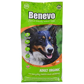 Benevo Dry Dog Food Organic Complete Adult 2kg Bag Amazon Co Uk