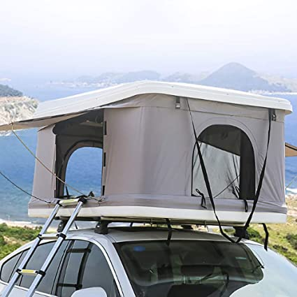 Amazon com : LMHX 2-3 Adults Car Roof Tent Automotive Rooftop Tent