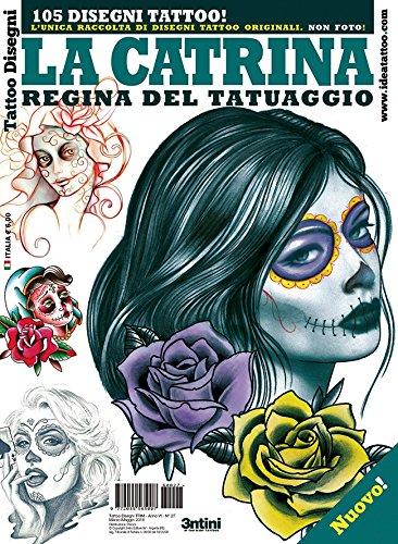 La Catrina tatuaje Flash libro para llamativos, hermoso, Seductor ...