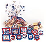 4th of JULY - 'COOKIE TALK' 2 LB. COOKIE PLATTERS (COOKIES WITH MESSAGES)