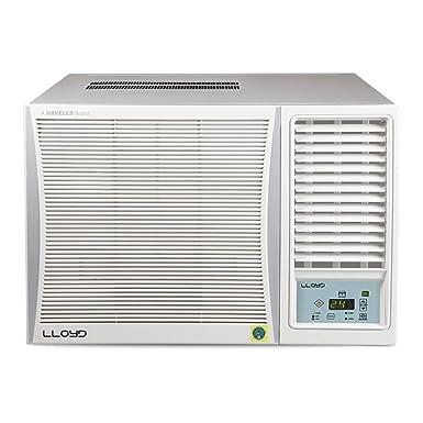 Lloyd Mats 1.5 Ton 3 Star Window AC  Copper, LW19B32MR, White  Air Conditioners
