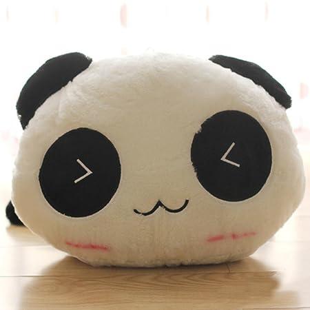 Steellwingsf Kawaii lindo peluche muñeca juguete animal gigante Panda almohada suave relleno Bolster regalo, ver imagen, 45 cm: Amazon.es: Hogar