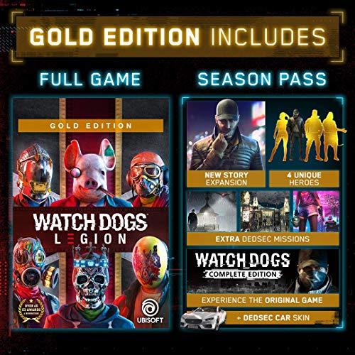 Watch Dogs: Legion Xbox Series X|S, Xbox One Gold Edition [Digital Code]