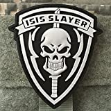 used beer caps - Isis Slayer Morale Patch - PVC Rubber Morale Patch, Backed with Hook Velcro By NEO Tactical Gear (1 Pack)