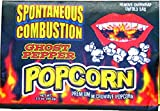 Spontanous Combustion Ghost Pepper Popcorn will put little Ass Kickin' in your favorite movie! This popcorn is seasoned just right with Ghost chili pepper. Each package contains 3 microwave bags. Save on our pack of 3, so 9 individual bags al...
