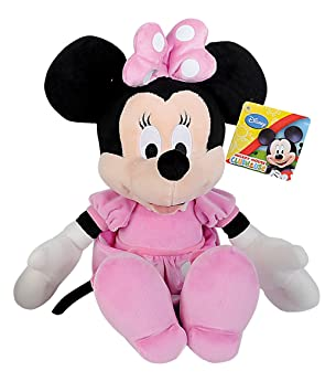 Simba 6315872639 Disney La Casa de Mickey - Peluche de Minnie básico (35 cm)