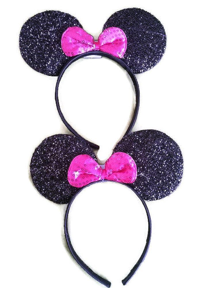 Kenza Mickey/Minnie Mouse Style Ears Boys, Girls, Children, Adults, Halloween Parties Disneyland
