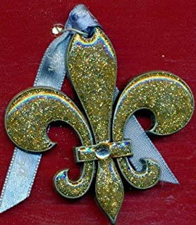"product image for Gloria Duchin "" Fleur di Lis "" Collectable Ornament"