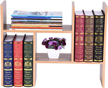 Amazon.com: Yayumi estantería para libros, creativa y simple ...