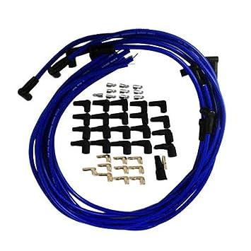 9,5 mm azul Bujía Cables para distribuidor para Chevy BBC SBC 302 350 383 454: Amazon.es: Coche y moto