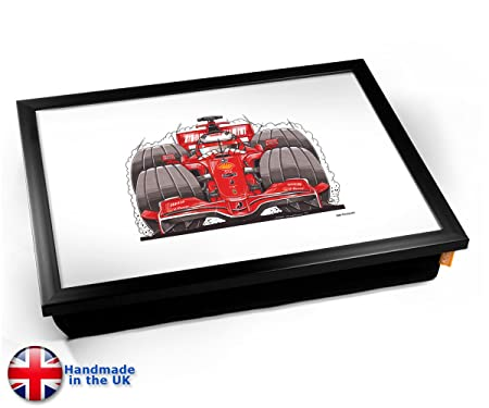 KICO Koolart Formula 1 Car Illustration Caricature Cushioned Bean ...