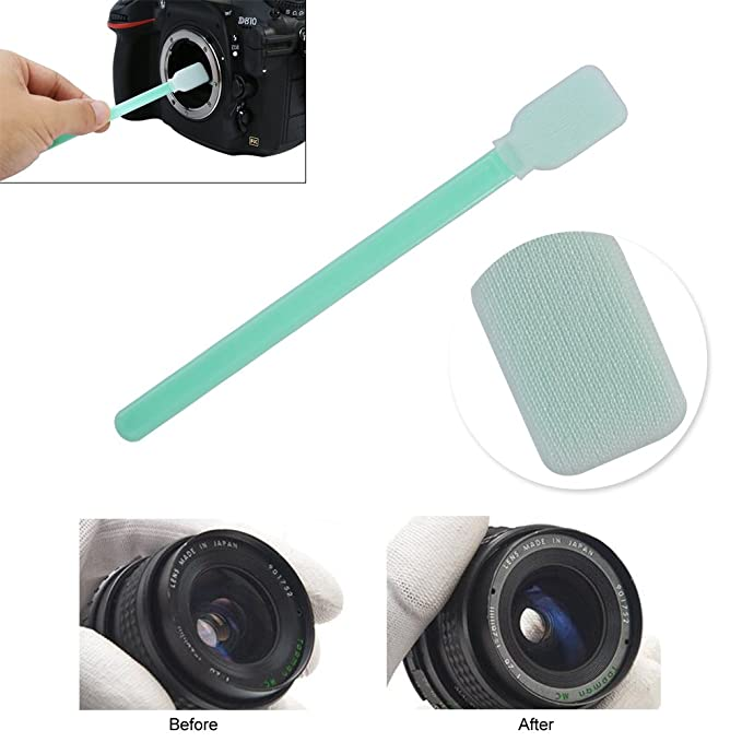 EBTOOLS 6pcs Sensor de Cámara Profesional CCD CMOS Limpieza Kit de ...