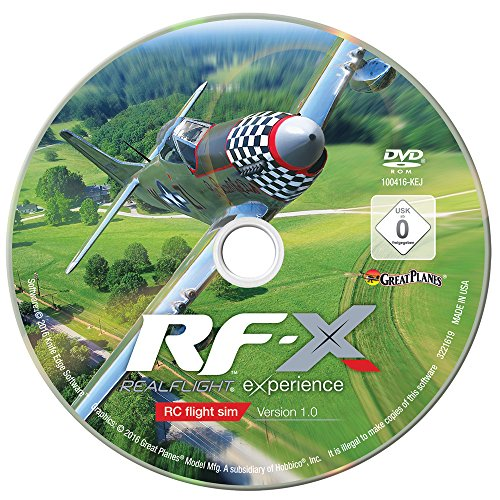 Great Planes RealFlight X Radio Controlled Flight Simulator Software from Great Planes