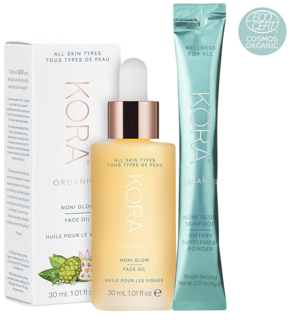Kora Noni Glow Face Oil (Free Kora Skinfood Dietary Supplement Powder Packet)