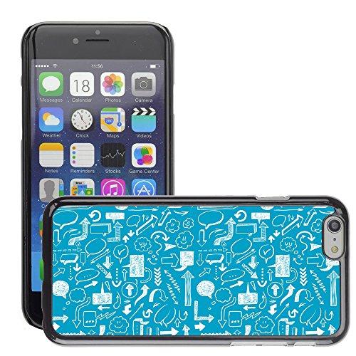 """Premio Sottile Slim Cassa Custodia Case Cover Shell // V00002517 flèches Seamless // Apple iPhone 6 6S 6G 4.7"""""""