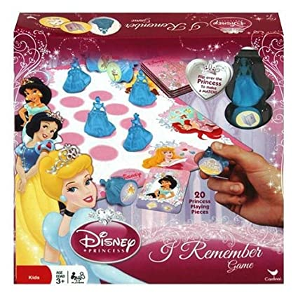 Amazon.com: Disney Princess I Remember Juego Idea de regalo ...