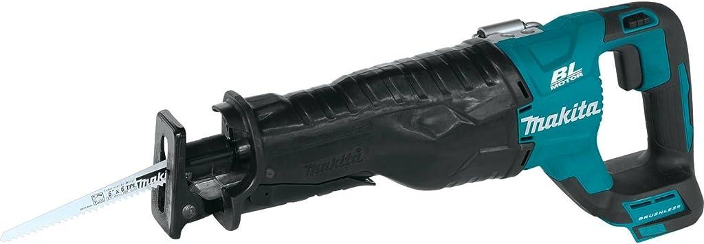 Tool-Only Makita 18V XRJ05Z LXT Li-Ion Brushless Cordless Reciprocating Saw
