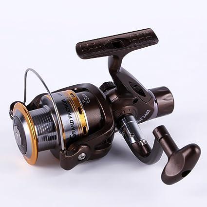 WKAIJCH Full Metal Head Carrete De Pesca Rueda De Pescado Sea Rod Fishing Reel Spinning Wheel Sea Rod Wheel Rocker Wheel Stem Wheel Fishing Gear 5: 2: 1: Amazon.es: Hogar