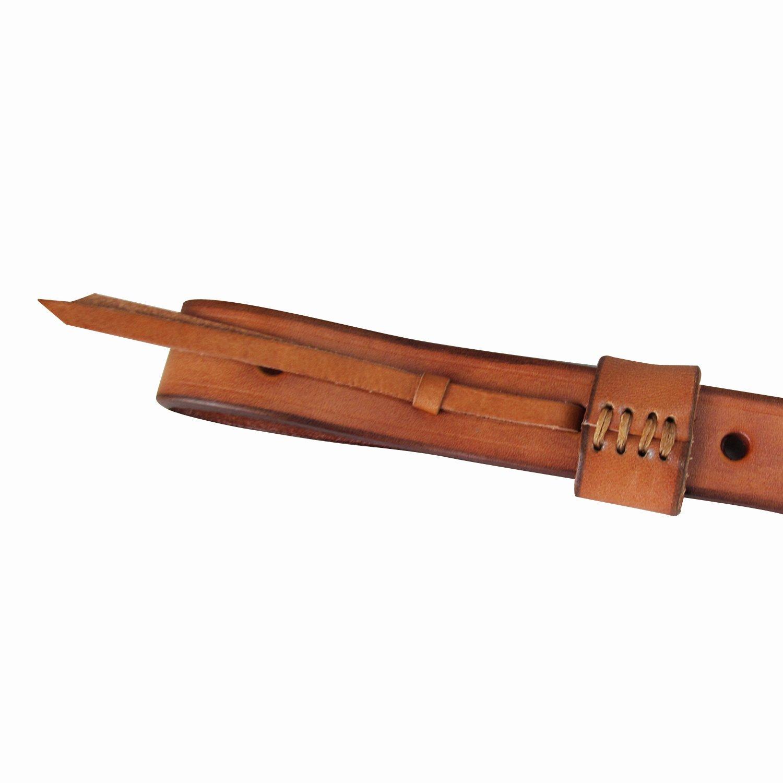 Tourbon Caza Lujo Vintage Cuero aut/éntico Estilo Europeo Escopeta Rifle Pistola Sling Pistola Caliente Marr/ón