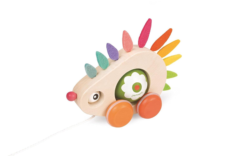 Janod Pull Along Hedgehog Toy