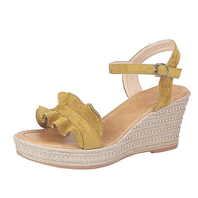 MujerCovermason De Sandalias Calzado Zapatos Playa Tacón SUzpGqMV