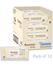 Aveeno Baby Wipes (Daily Care) - Pack of 12 (864 Wipes In Total) (Pack of 1)