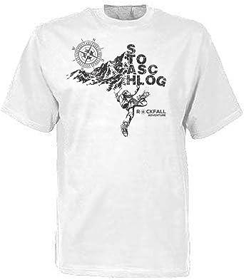 Stoaschlog – Camiseta Escalada Rock Caso escalador Talla S ...