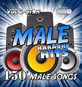 Vocal-Star Male Hits Karaoke Collection CDG CD+G Disc Pack