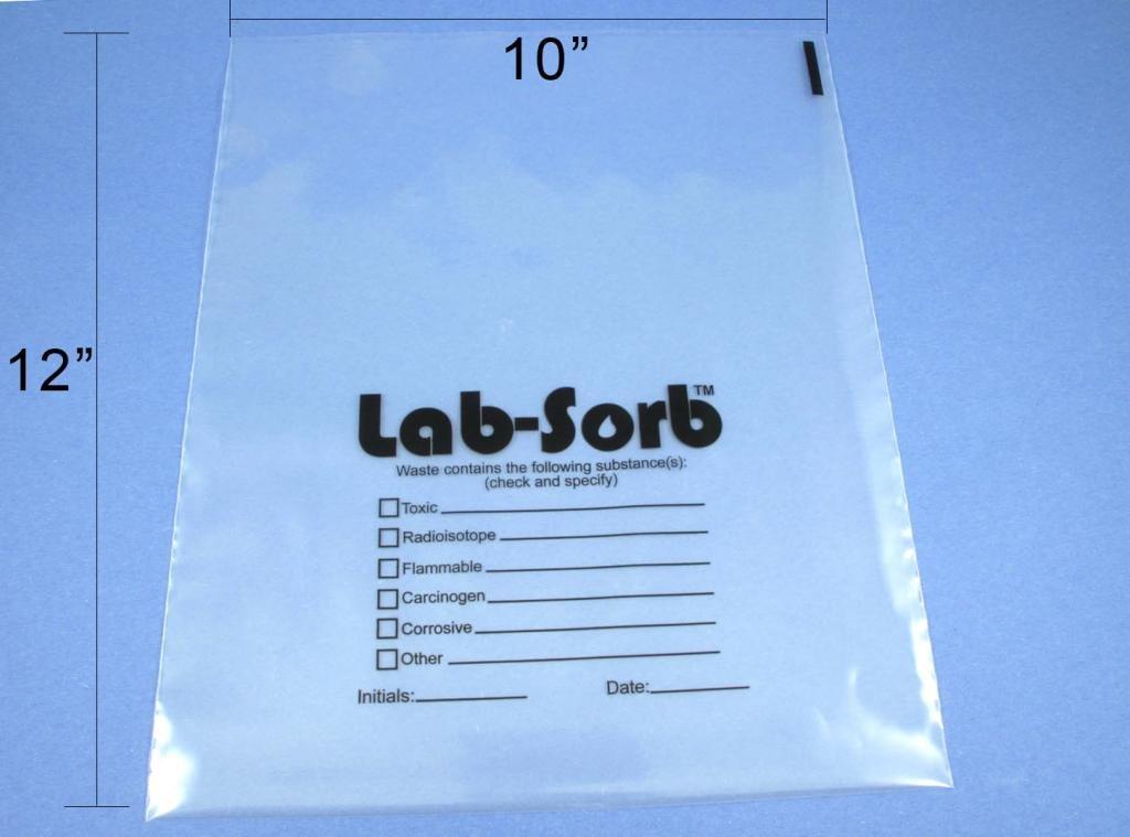Diversified Biotech Sorb-3200, Lab-Sorb Disposal Bags, Large 50/Pk (Pack Of 50) by DIVERSIFIED BIOTECH