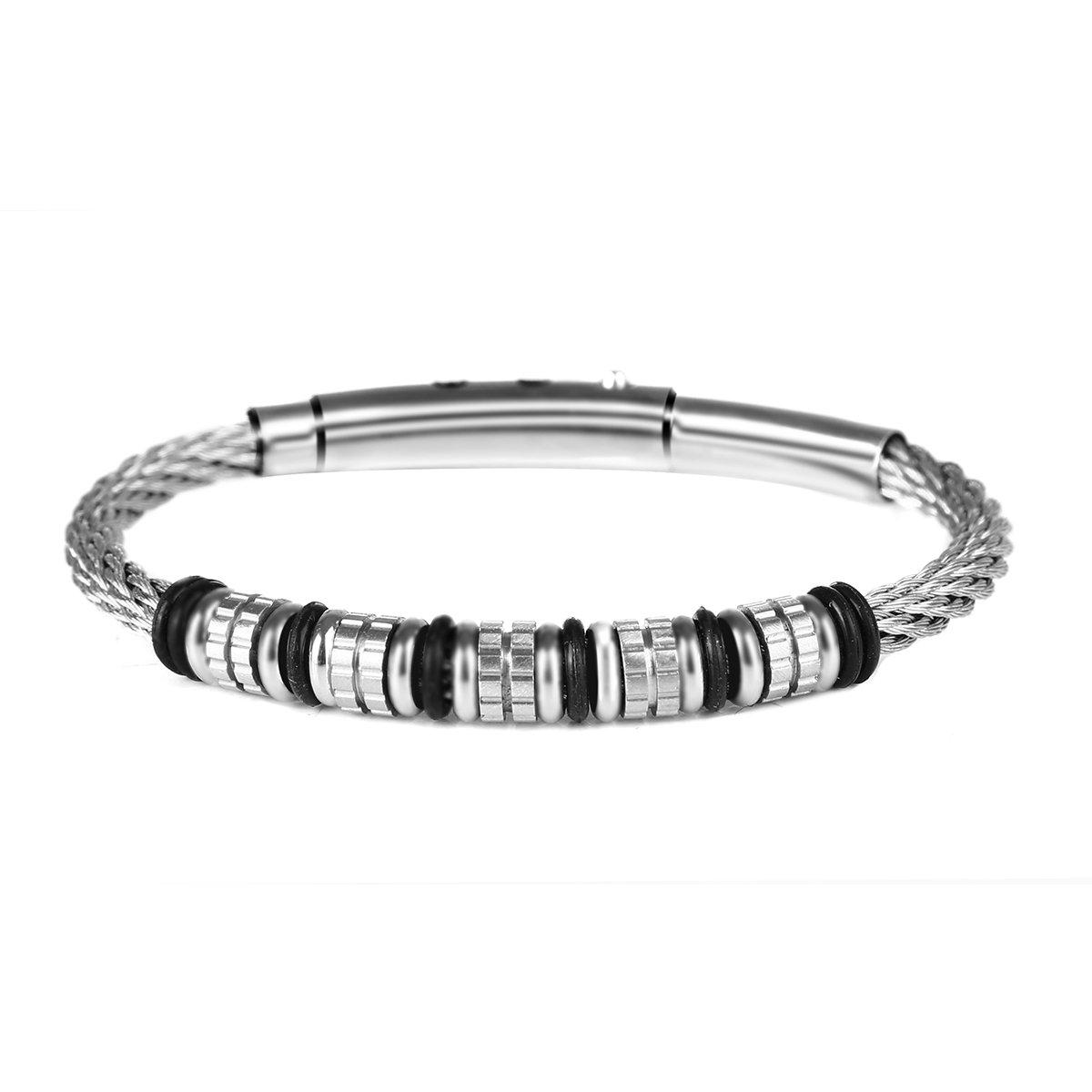 ESEN KJ Stainless Steel Bracelet Wire Braid (9inches)