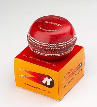 Katchet K-Bowl - Balón de Entrenamiento para críquet (Piel, Talla ...