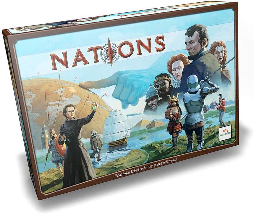 Asmodee - Nations (NAT01ES): Amazon.es: Juguetes y juegos