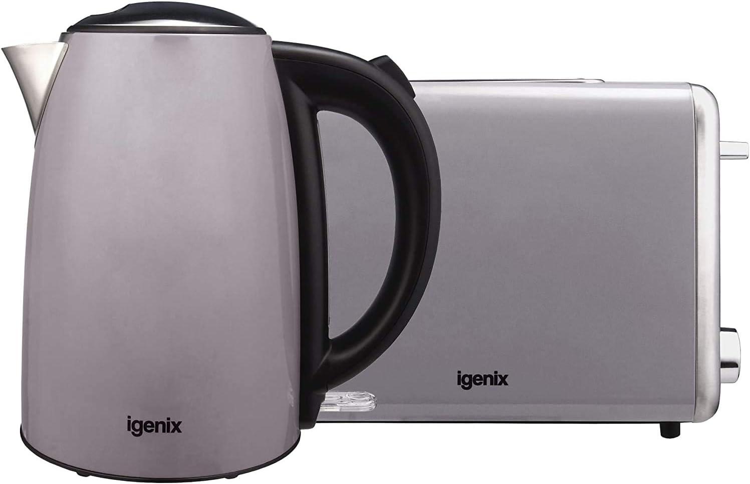 1.7 Litre Kettle, Grey – IG750G – Igenix