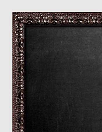 Amazon.com - Small Framed Chalkboard 19x17 Inch With Brown Red Frame -