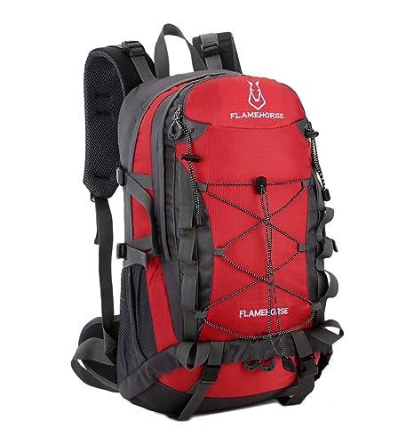 0544335acf9f Amazon.com : JQXB Hiking Backpack, Outdoor Waterproof Camping ...