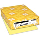 Neenah Exact Index, 110 lb, 8.5 x 11 Inches, 250 Sheets, Canary