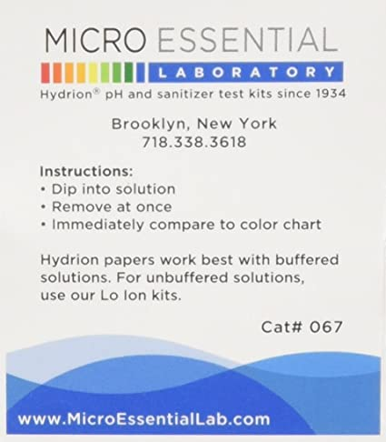 Micro Essential Labs Hydrion Buffer Capsule 700 T