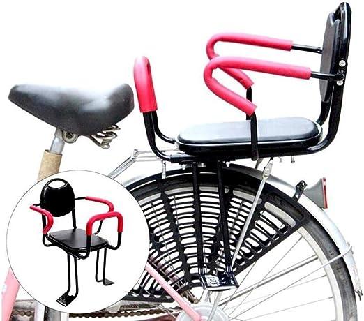 FHGH Silla Bicicleta para NiñOs, Asiento Infantil para Bicicleta ...